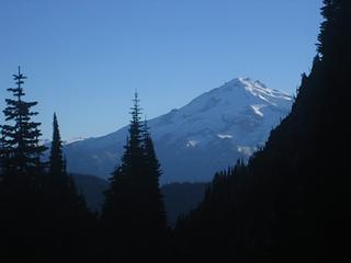 Glacier Peak, from below the Great Impasse