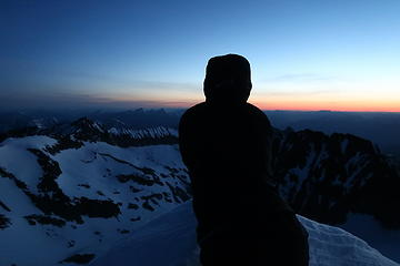 4:35 AM, summit of Mount Spickard