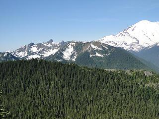 Peaks from Crystal Peak trail.
