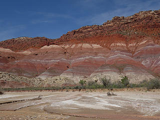 colorful chinle formation bands