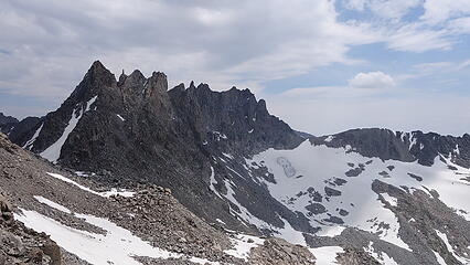 Knife Point Mountain from Indian Pass