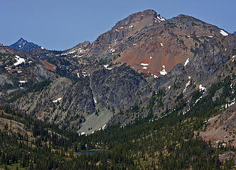 South Ingalls Mountain and Gallaher Head Lake