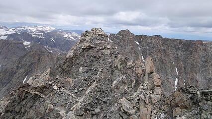 Rough looking terrain to Sunbeam