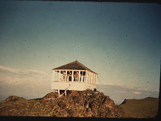 Mount Townsend Lookout 1955 by Dick Bryant