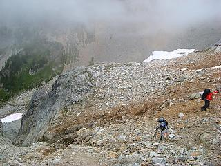 Top of the gully