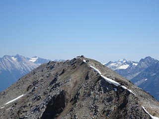 True Glacier View summit. Tuber Hill is only a little shorter