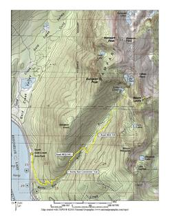 Mt Laura Route Map