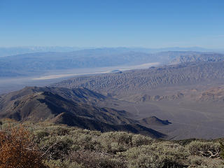 Panamint Valley and Sierras