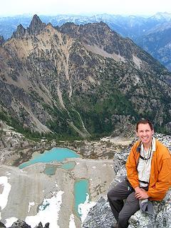 Greg on Devore summit