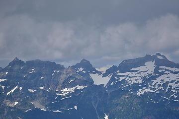 Columbia, Monte Cristo, Kyes