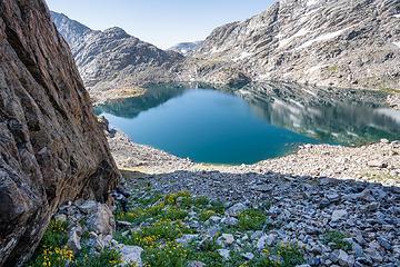 up Douglas Peak Pass