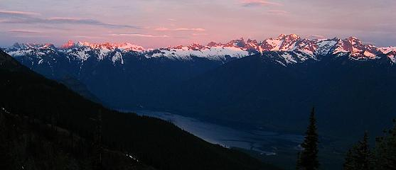 West Ross Lake Skyline