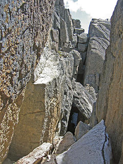 Cathedral Chasm--1st Crossing