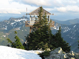 Granite Mtn Lookout - home of Kelly's Butte