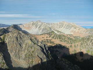 Antler and Fremont peaklets