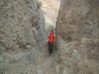 secondary canyon