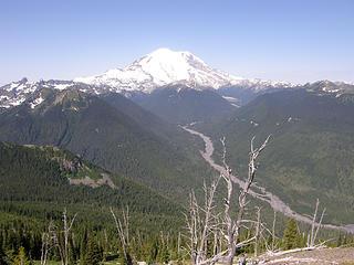 Views on way down Crystal Peak trail.