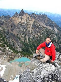 5:45pm, 8360 feet, Devore Summit, (94/100), looking back to Tupshin