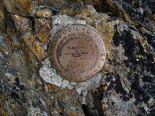 Clark summit marker