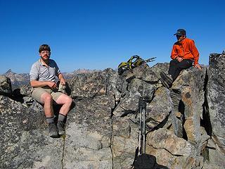 Cartman & Dicey on Stiletto summit