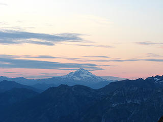 Sunset over Glacier Peak