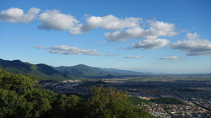 Hills surrounding Salta