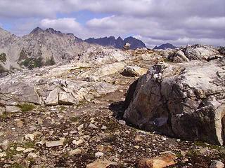 Start of Spider ridge trail