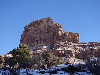 North side of Bottleneck Peak