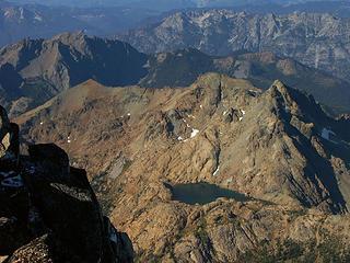 Fortune, S. Ingalls, Ingalls Peaks and Ingalls Lake