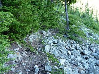 Built Trail @ 5650'