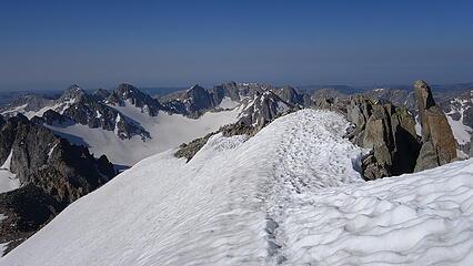 Upper snowfield on Gannett