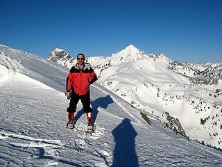 Matt near the summit