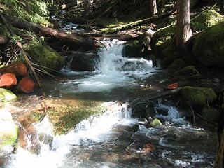 Lovely Deep Creek near trail entrance
