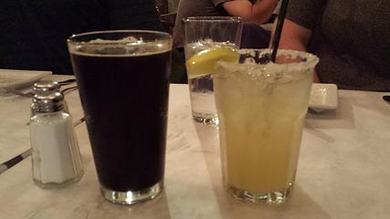 Post-hike drinks