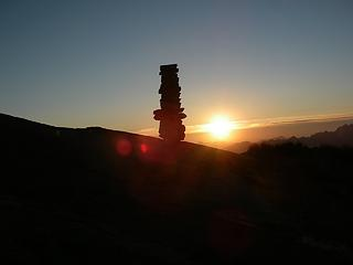 Sunset Cairn