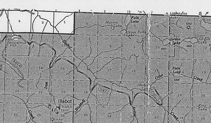1966 FS Map.  FS Road #16 shown.
