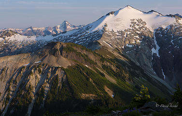 Mt Blum in background