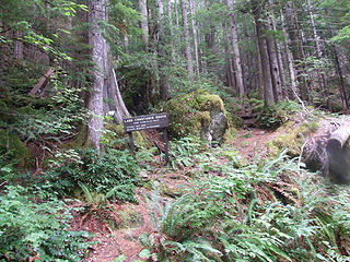 start of Constance Lake trail