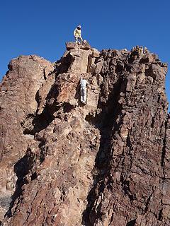 detour to pinnacle 3288'