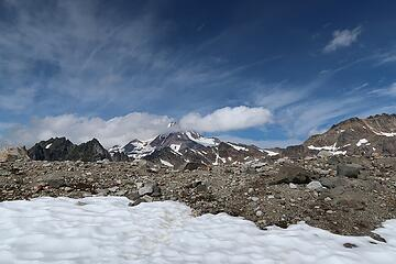 first Glacier sighting