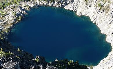 Depths of Stiletto Lake