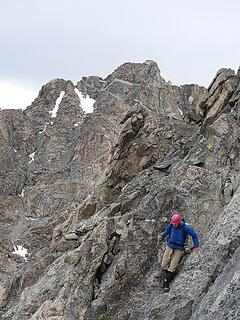 Made it past the crux
