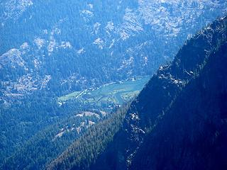 Stehekin River delta at head of Lake Chelan