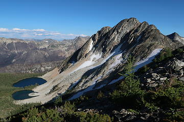 Dot Lakes and Peak 8165