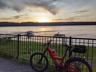 East Lake Sammamish sunset