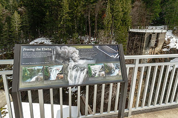Glines overlook sign #2