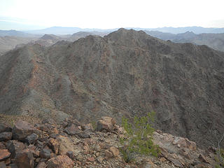Hamblin Mountain main peak