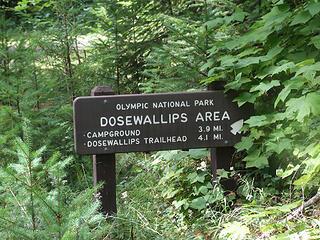 Sign near Elkhorn camp