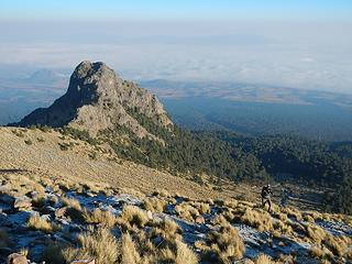 Cerro Tlachichihuatzi below