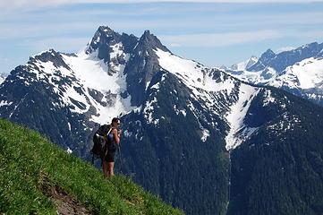Mt. Sefrti for slopes of Goat Mt.